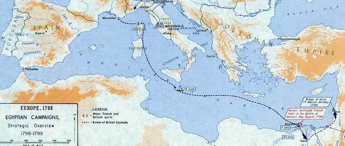 египетский поход наполеона кратко