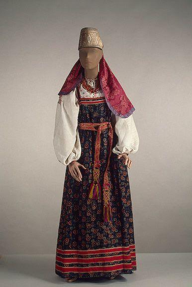 как одевались славяне