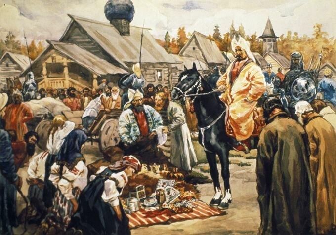 дань выплачиваемая русскими землями орде называлась