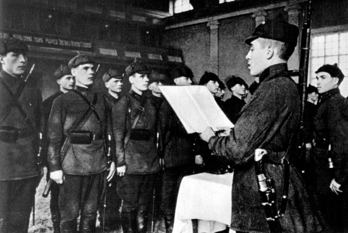 присяга советского солдата