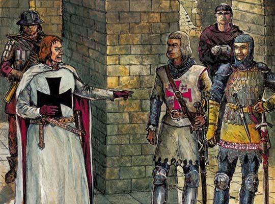 рыцарь картина