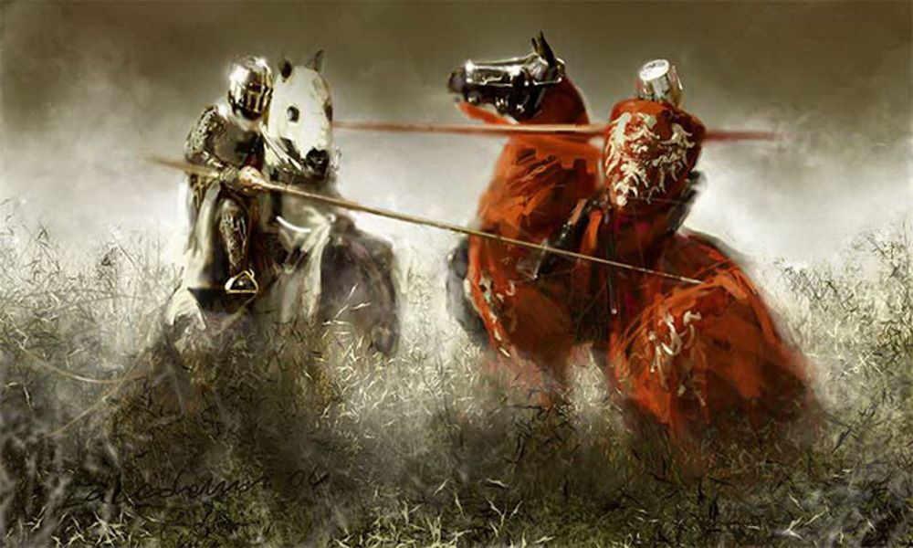 как жили рыцари