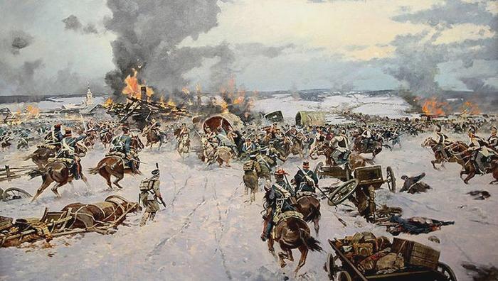 битва при березине 1812