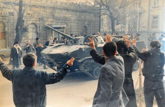черный январь 1990