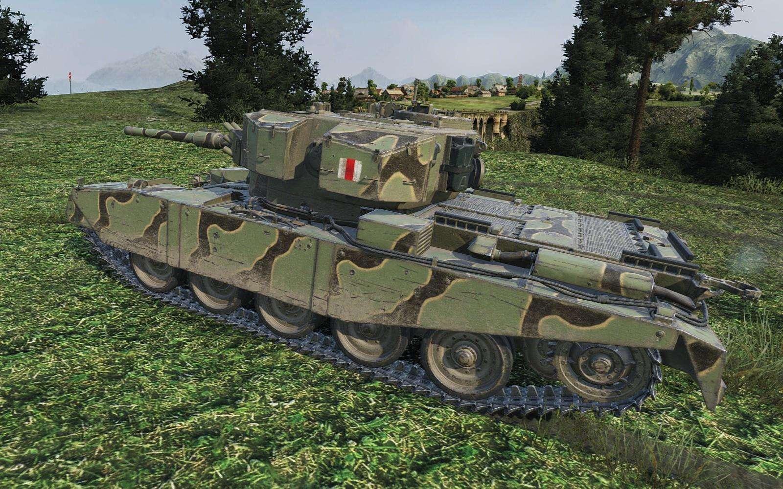 танк fv4202