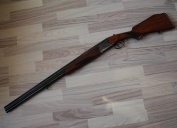 Двуствольное ружьё ИЖ-27