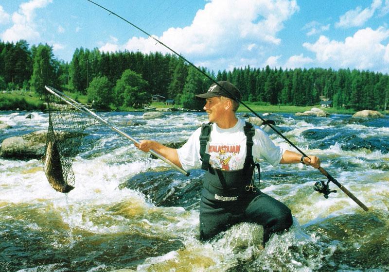 рыбалка в горных реках