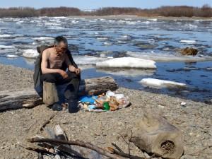 Апрельская рыбалка в ледоход