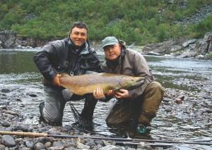Между охотами - на рыбалку!