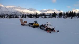 Снаряжение американских охотников на Аляске
