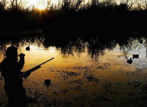 Весенняя охота с манком и чучелами