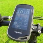 GPS-навигатор на велосипеде туриста