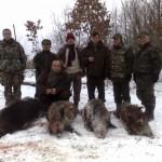 После облавной охоты