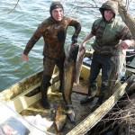Весенняя рыбалка в дельте Волги