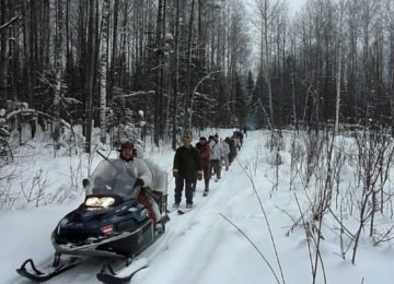 «Охота на волка со снегохода» смотреть видео онлайн