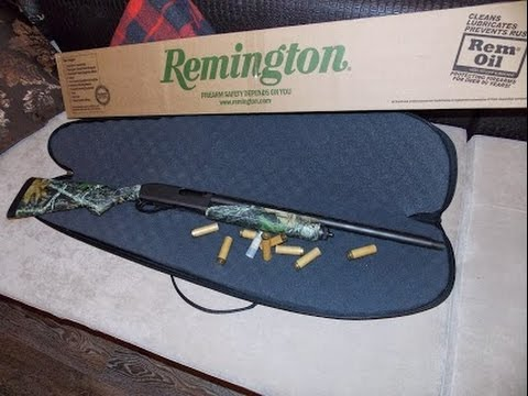 Помповое ружьё Remington 870