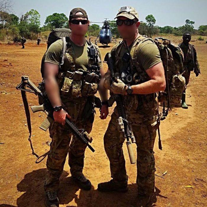 Американские бойцы спецназа