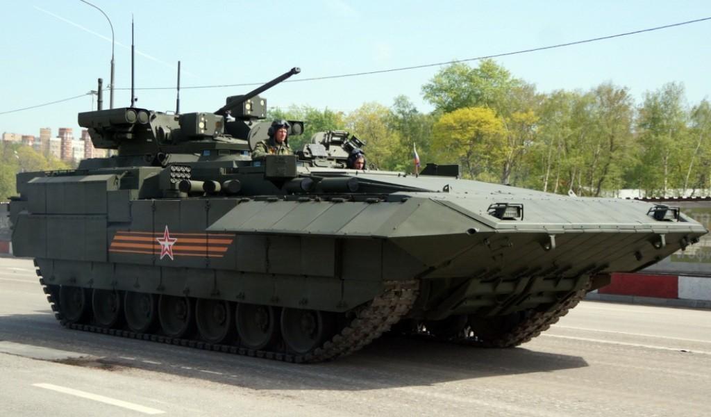 БМП Т-15 на основе Арматы