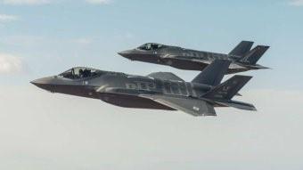 Боевой вылет F-35