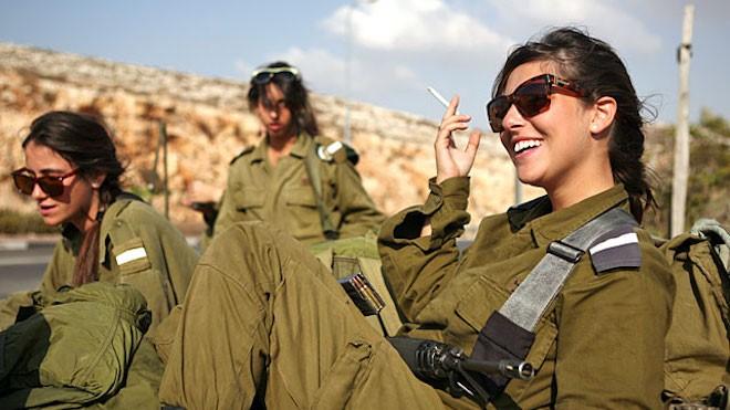 Израильские женщины-военнослужащие