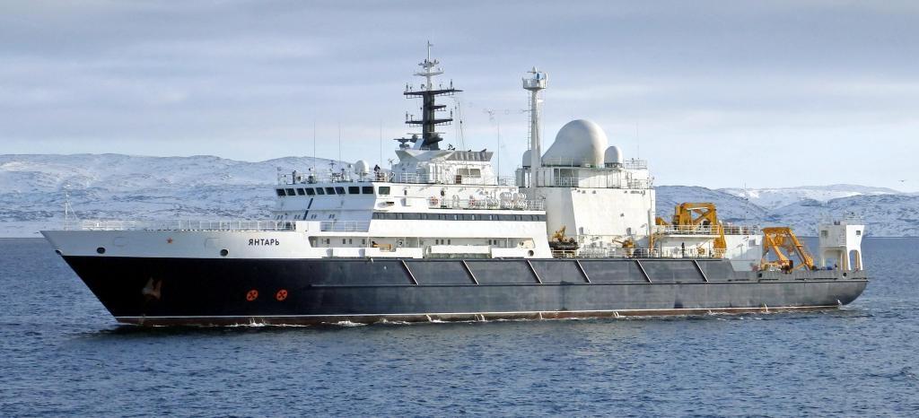 Научно-исследовательское судно «Янтарь»