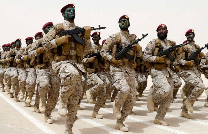 Подразделение в пустыне