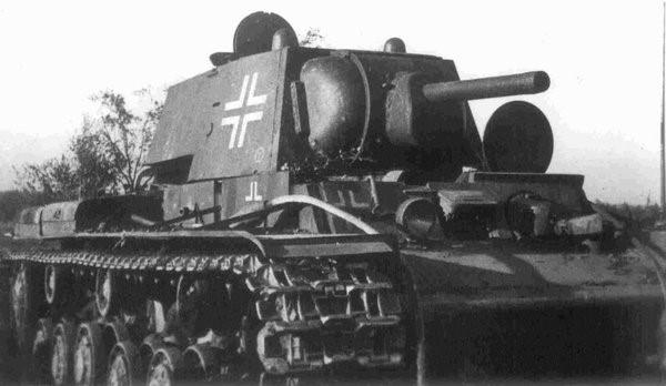 Трофейный КВ-1