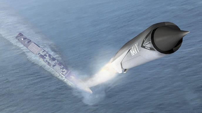 Запуск «Калибра» с корабля