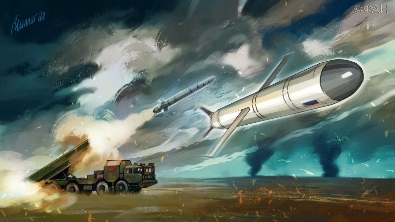 Запуск ракеты-мишени