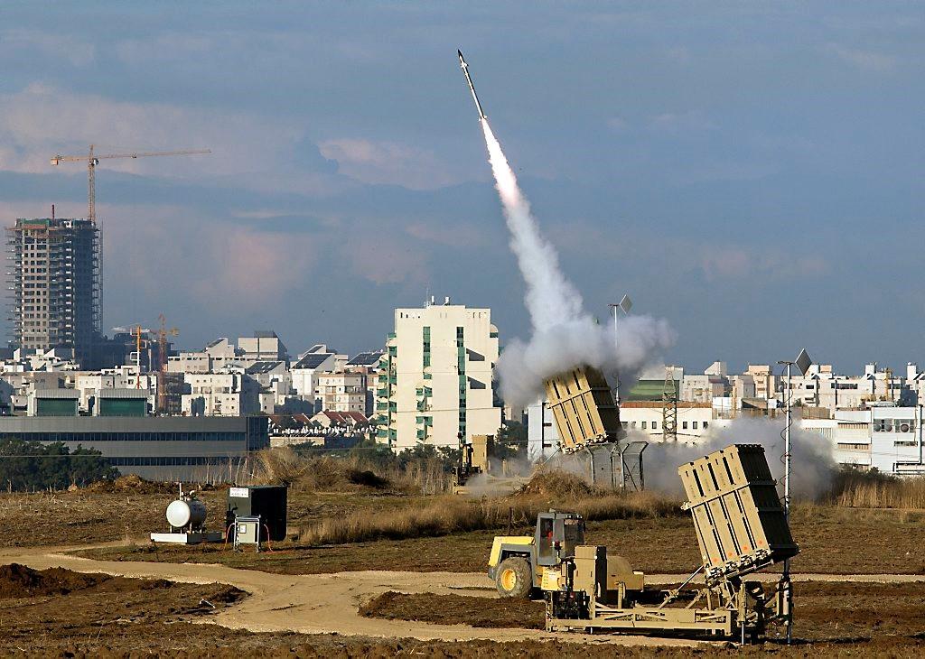 Запуск ракеты ПВО