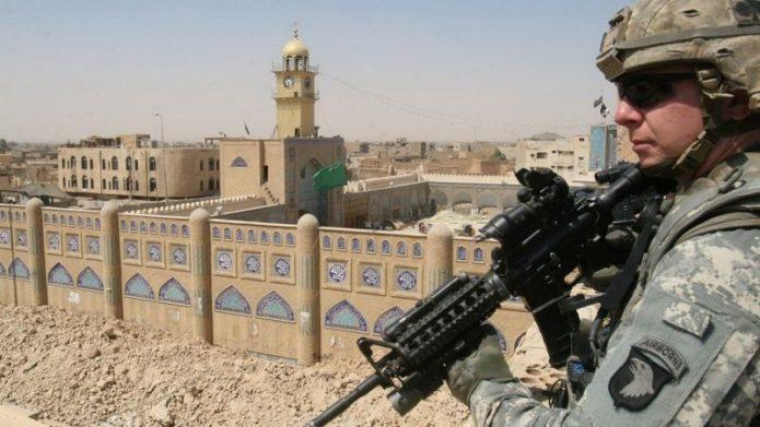 Американский солдат в Кабуле