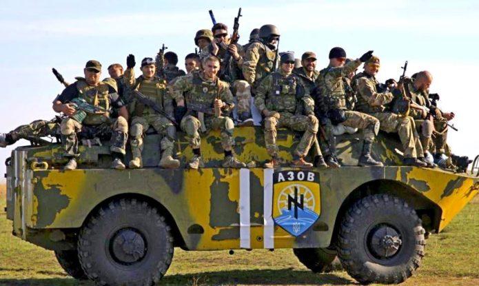 Боевики батальона «Азов»