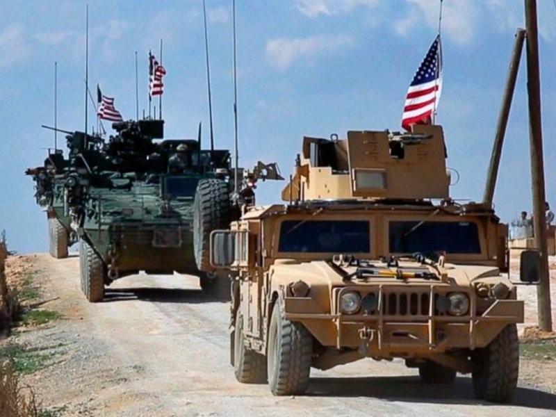 Джипы с солдатами США