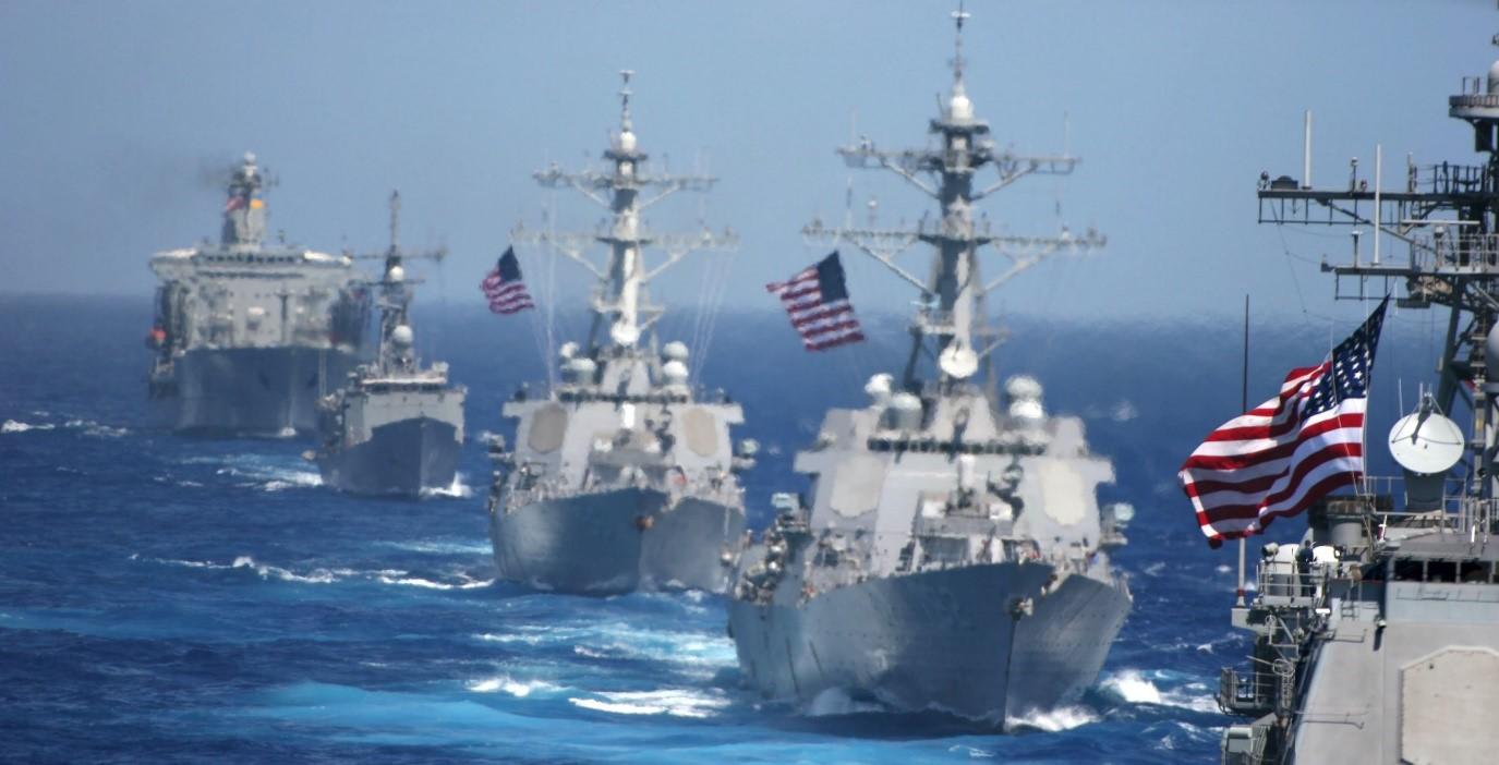 Эскадра кораблей США