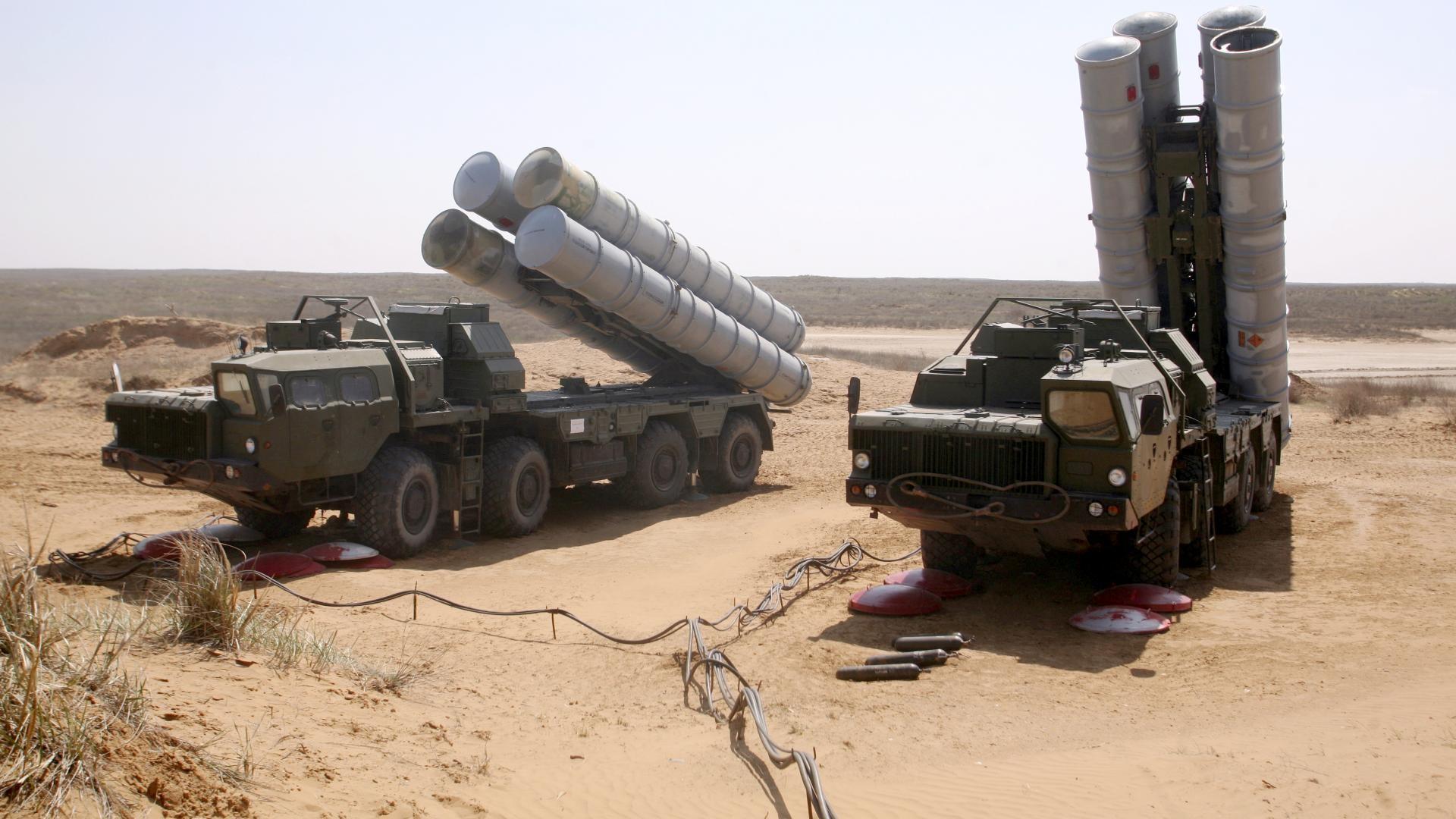 Готовый к бою комплекс С-400