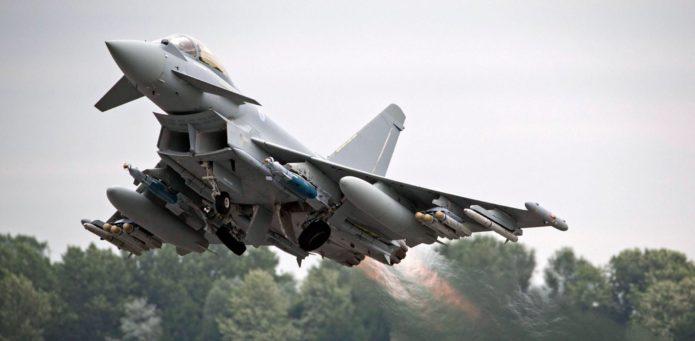 Испанский истребитель Eurofighter