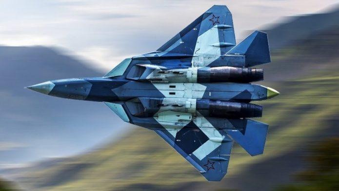 Истребитель 5-го поколения СУ-57
