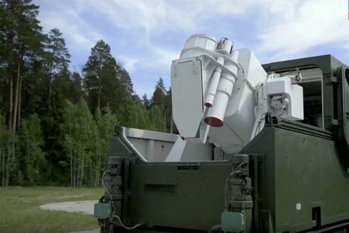 Лазерный комплекс Пересвет