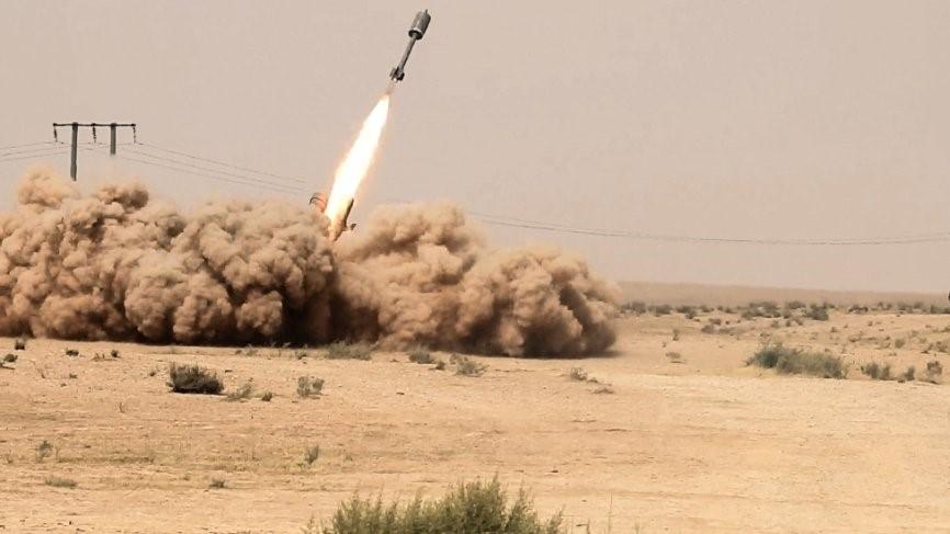Ракета сирийских ПВО