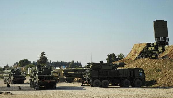 Развертывание С-400 в Сирии