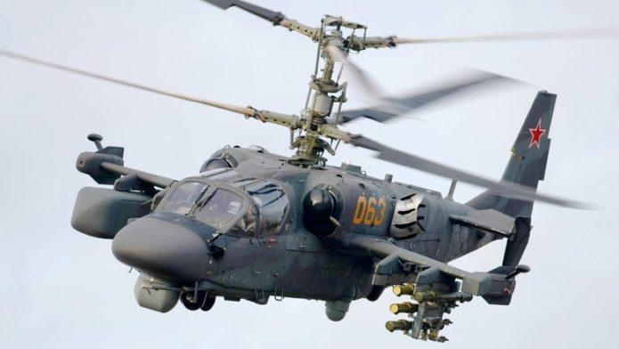 Российский «Аллигатор» КА-52