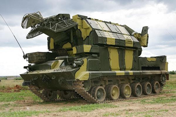 Российский комплекс ЗРК «Тор»