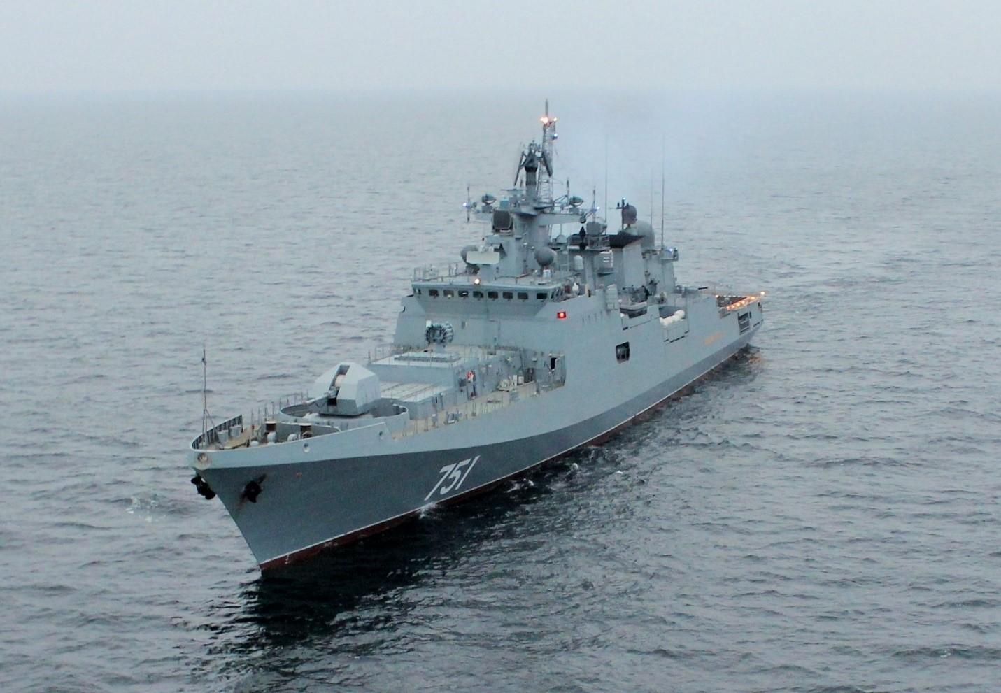 Российский ракетный корабль