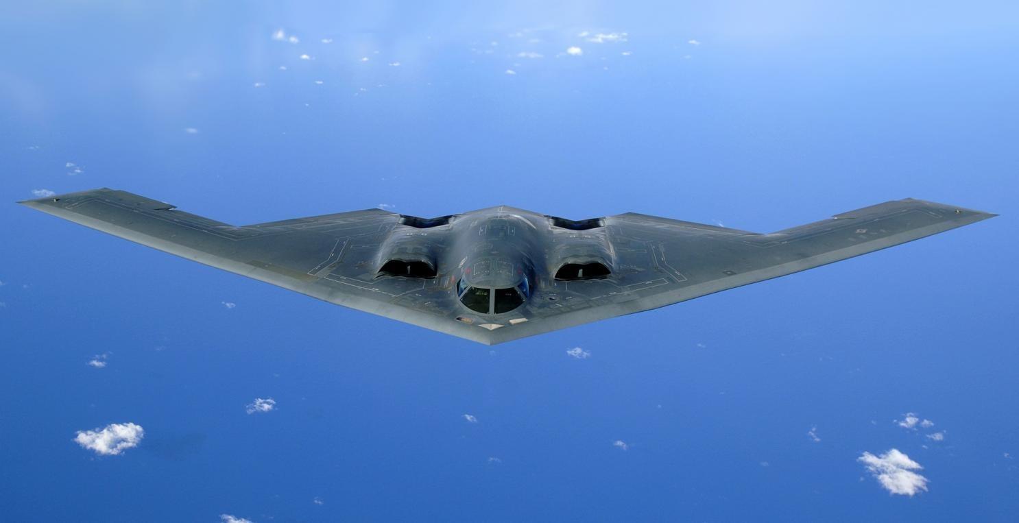 Самолет, созданный по стелс-технологиям