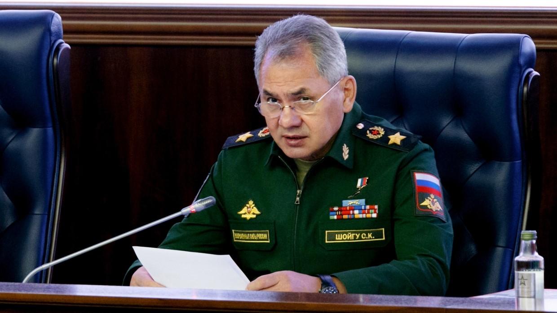 Сергей Шойгу - министр обороны России