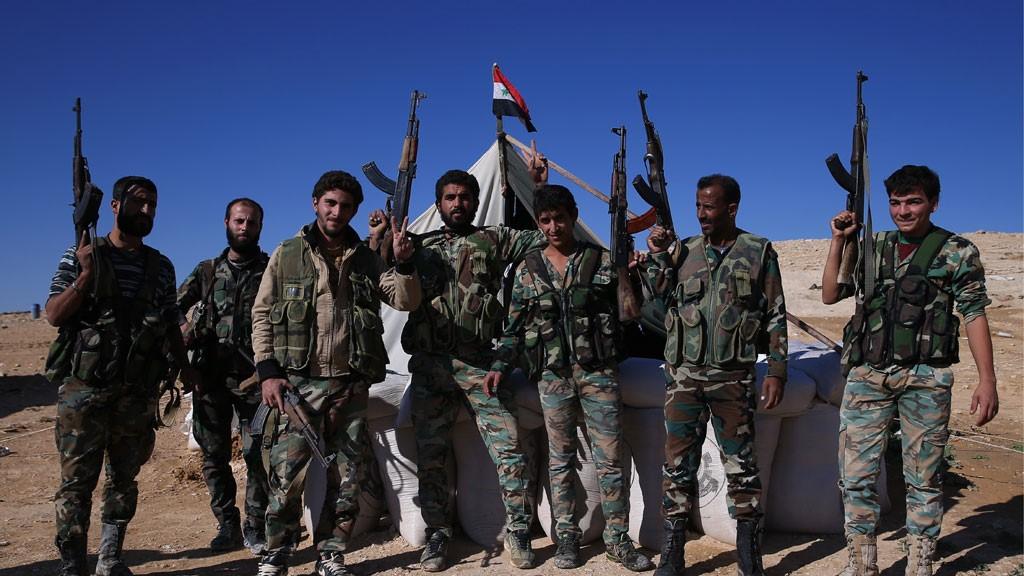 Сирийские солдаты
