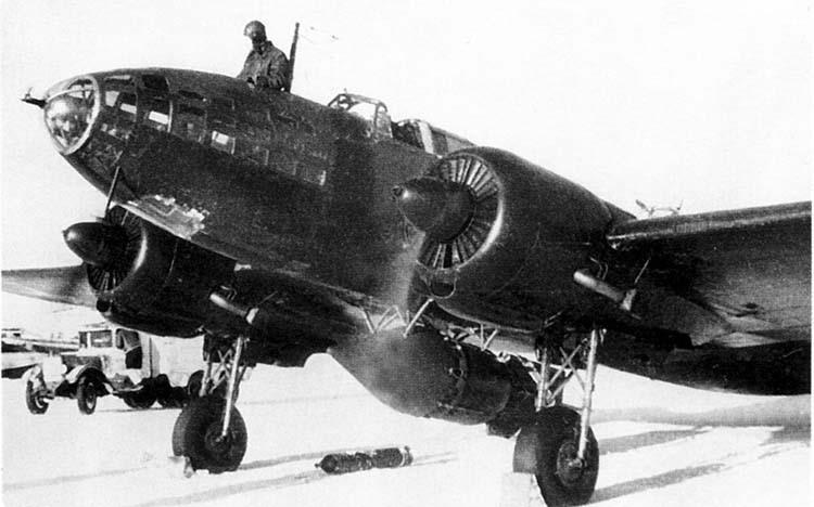 Советский самолет времен ВОВ