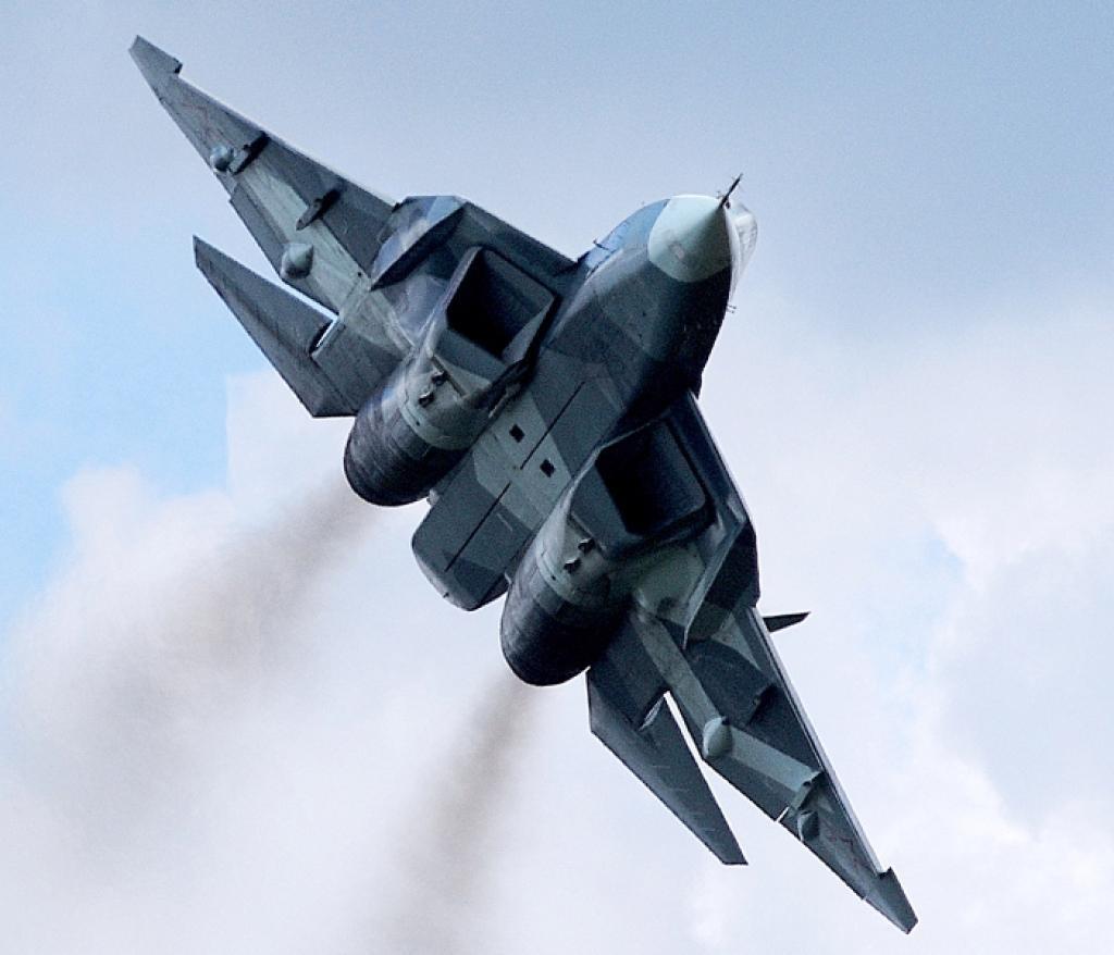 СУ-57 - истребитель ВКС РФ