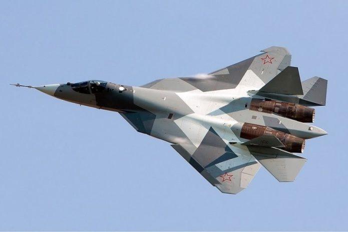 Су-57 - российский истребитель