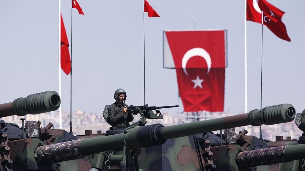 Турецкие танковые части